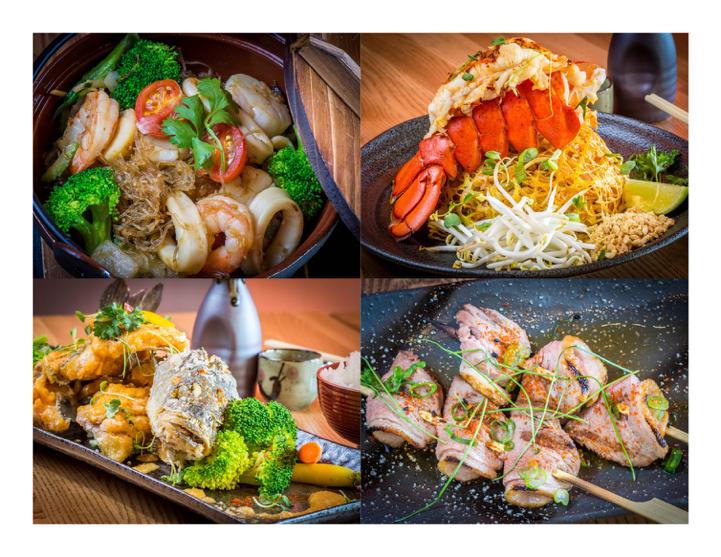 Yakuza - Seafood Pic
