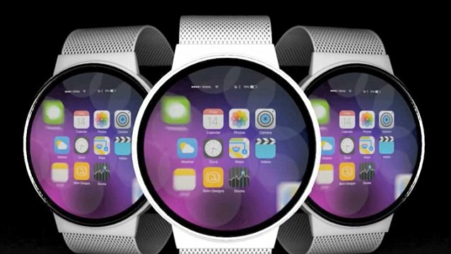 The most conventional concept for the iWatch